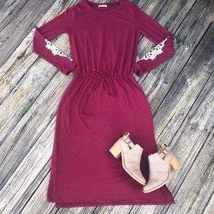 HOST PICK! 🎉🎉 REBORN J Midi Drawstring Dress